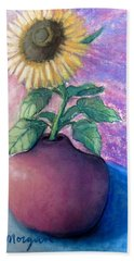 Shine On Me Beach Towel by Laurie Morgan