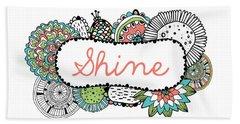 Shine Part 2 Beach Towel