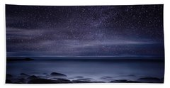 Shining In Darkness Beach Towel by Jorge Maia