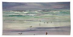 Shoreline Birds IIi Beach Towel