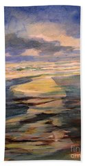 Shoreline Sunrise 11-9-14 Beach Towel