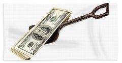 Shovel Of Dollar Beach Towel