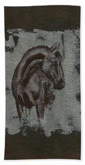 Show Horse Beach Towel