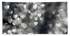 Showered In Love Beach Towel by Beverly Stapleton