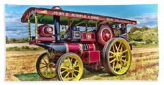 Showmans Engine Beach Sheet