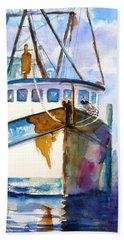 Shrimp Boat Isra Beach Sheet