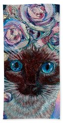 Siamese Bride Beach Towel