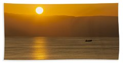 Sicilian Dawn Beach Towel