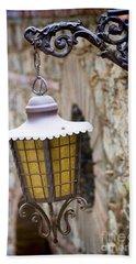 Sicilian Village Lamp Beach Sheet