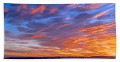Sierra Nevada Sunrise Beach Towel