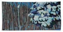 Significant Cedar Beach Towel by Phil Chadwick