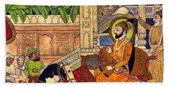 Sikh Guru Beach Towel