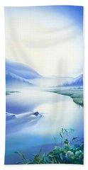 Silence Beach Towel by Anna Ewa Miarczynska