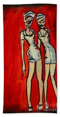 Silent Hill Nurses Beach Towel