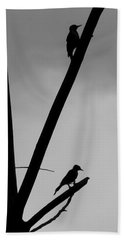 Silhouette 1 Beach Towel