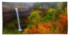 Silver Falls Pano Beach Sheet