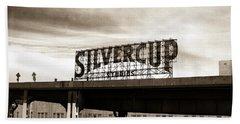 Silvercup Studios Beach Towel