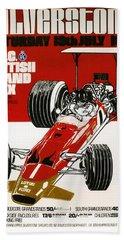 Silverstone Grand Prix 1969 Beach Towel