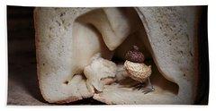 Simple Things -  Strange Birds Beach Towel
