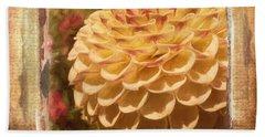 Simply Moments - Flower Art Beach Sheet