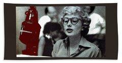 Singer Pianist Blossom Dearie  No Known Date Beach Sheet