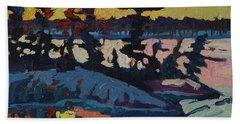 Singleton Sunset Beach Towel by Phil Chadwick