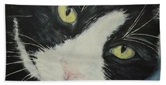 Sissi The Cat 1 Beach Towel