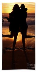 Sister Sunset Beach Towel