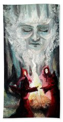 Sisters Of The Night Beach Towel