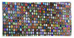Six Hundred Rectangles Beach Sheet by Don Gradner