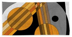 Six Strings Beach Towel