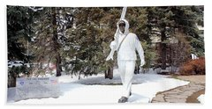 Ski Trooper Beach Towel