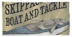 Skippack Boat And Tackle Beach Towel