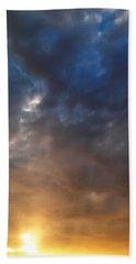 Sky Moods - Contemplation Beach Sheet by Glenn McCarthy