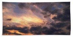 Beach Towel featuring the photograph Sky Moods - Depth by Glenn McCarthy