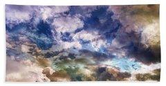 Sky Moods - Sea Of Dreams Beach Sheet by Glenn McCarthy