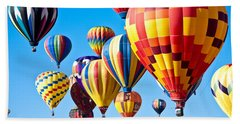 Sky Of Color Beach Towel