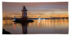Sleepy Hollow Light Reflections  Beach Sheet
