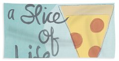 Slice Of Life Beach Towel