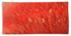Slice Of Watermelon (detail) Beach Towel