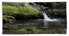 Small Falls On West Beaver Creek Beach Sheet