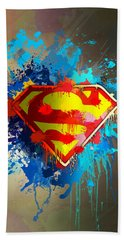 Smallville Beach Towel by Anthony Mwangi