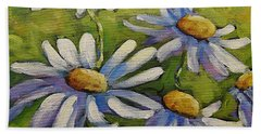 Smiling Daisies By Prankearts Beach Towel