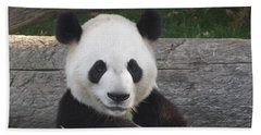 Smiling Giant Panda Beach Sheet