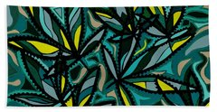 Smoke On The Water Beach Towel
