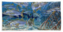 Snook Cruise In006 Beach Towel by Carey Chen