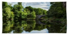 Snowdonia Summer On The River Beach Towel