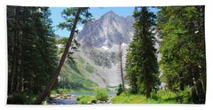 Snowmass Peak Landscape Beach Sheet
