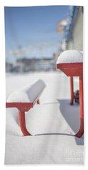 Snows Of New York Beach Towel