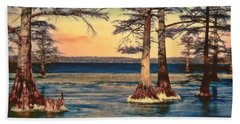 Snowy Reelfoot Beach Sheet